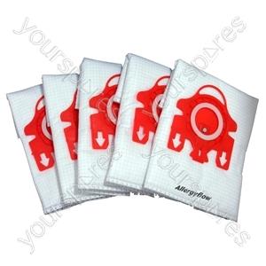 Miele Vacuum Cleaner Dust Bags Type FJM x 5 + 2 Filters 3D Efficiency
