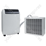 15000 BTU Inverter Split Remote Control Portable Air Conditioner with Timer