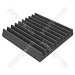 30 X 30 X 5cm Foam Acoustic Tiles (Pack of 16) - Colour Charcoal Grey
