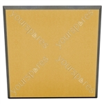 60 X 60 X 5CM FABRIC FACED TILE (Pack of 6) - Colour Natural