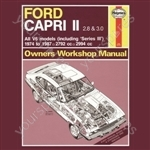 Ford Capri II (& III) 2.8 & 3.0 V6 (74 - 87) up to E - Classic Reprint Only