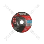 Abracs Grinding Discs - 125mm x 6mm - Pack of 10