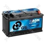 AGM Start Stop Plus Battery 12V - 95Ah - 850A