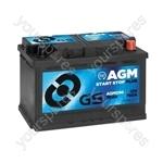 AGM Start Stop Plus Battery 12V - 70Ah - 760A