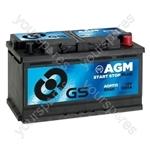 AGM Start Stop Plus Battery 12V - 80Ah - 800A