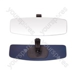Rear View Stick On Mirror - Panoramic - 12 x 3.6in.