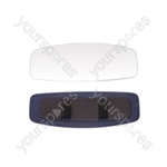 Rear View Clip On Mirror - Panoramic - 12.3 x 4.5in.