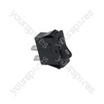 Barline/Cab/Ceado/Cofrimell Icemaker Switch 1-pole Black 16a 250v