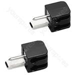DIN Speaker Plug - Pair Of Din Speaker Plugs