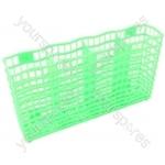 Zanussi Basket Cutlery- Small Green