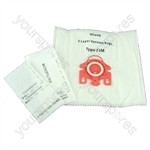Fits Miele Vacuum Cleaner Dust Bags and Filters Type FJM