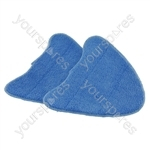 Vax Microfibre Velcro Pads (Pack Of 2)