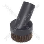 Universal Black 32mm Round Dusting Brush