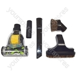 Vacuum Cleaner Mini Pet Hair Remover Turbo Brush Floor Tool and 4 Piece Tool Kit 32mm