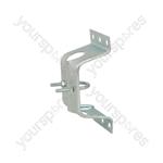 Pressed Caravan Bracket with Clamp - clamp- bulk - AE4085HD