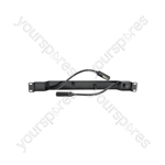 Dual Gooseneck Lighting Bar - (UK version) Racklight 12v 5w - GL212R