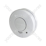 Photoelectric Smoke Detector with Hush Feature - w/hush button - SD102P