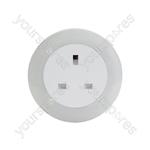 Plug Through LED Night Light with Colour Select