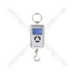 Compact Digital Hanging Scales - Silver - WH-A05