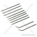 Soldering Iron Tips Set 10pce - 15 & 25W