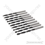 Lip & Spur Drill Bits - 4mm 10pk