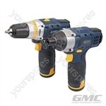 12V Drill Driver & Impact Driver Twin Pack - GTPDDID12