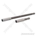 Magnetic Screwdriver Bit Holder 2pce - 60 & 150mm