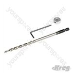 Deck Bit, Collar & Wrench Set - Bit Set
