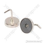 Magnetic Hooks 2pk - 35mm