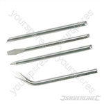 Soldering Iron Tips Set 4pce - 60W