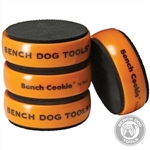 "Bench Cookie™ Work Grippers 4pk - 3"" x 1"""